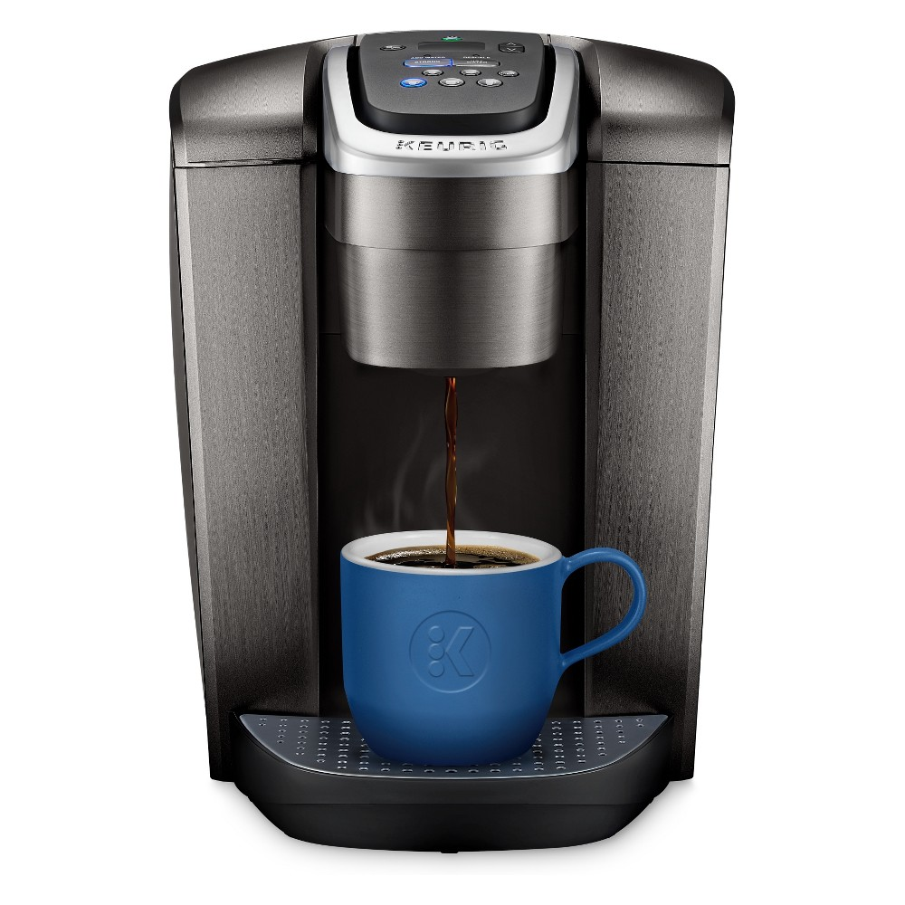 Keurig K-Elite Single-Serve K-Cup Pod Coffee Maker with Iced Coffee Setting – Brushed Slate 53205836