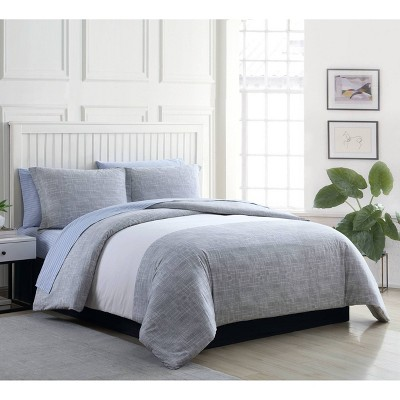 Poppy & Fritz Connery Stripe Comforter Set