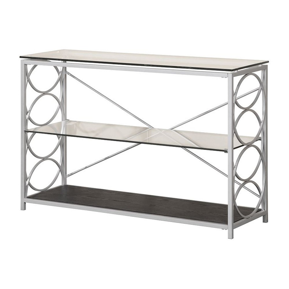 Sofa Table Silver - Home Source Industries