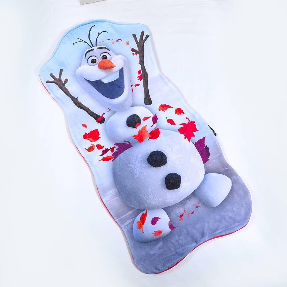 Image of Frozen II Olaf Blanket White