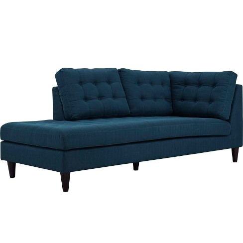 Empress Upholstered Fabric Bumper Azure - Modway - image 1 of 4