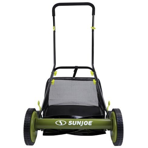 Sun Joe MJ501M Manual Reel Mower w/ Grass Catcher | 18 inch - image 1 of 4