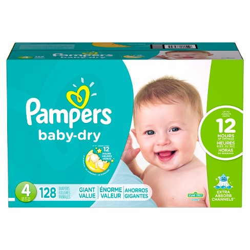 d91671f664508 Pampers Baby Dry Diapers Giant Pack (Select Size). Shop all Pampers Baby Dry