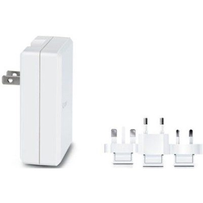iLuv Universal World Travel Adapter Plug Set in White