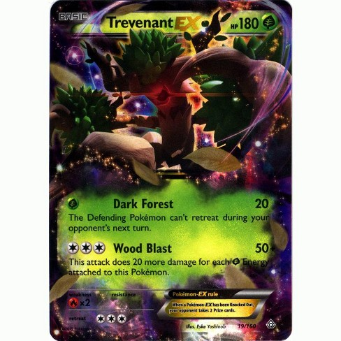 Pokemon X and Y Primal Clash Ultra Rare Holo Trevenant EX #19 - image 1 of 1