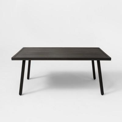 Fairmont Patio Coffee Table Black - Threshold™