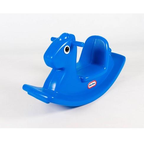 Little Tikes Rocking Horse Blue - image 1 of 4