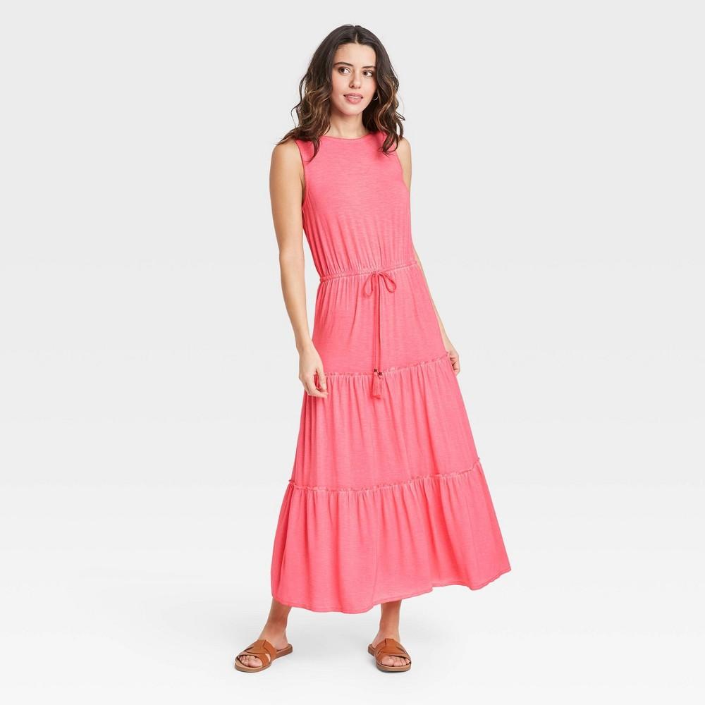 Women 39 S Sleeveless Knit Dress Knox Rose 8482 Pink L