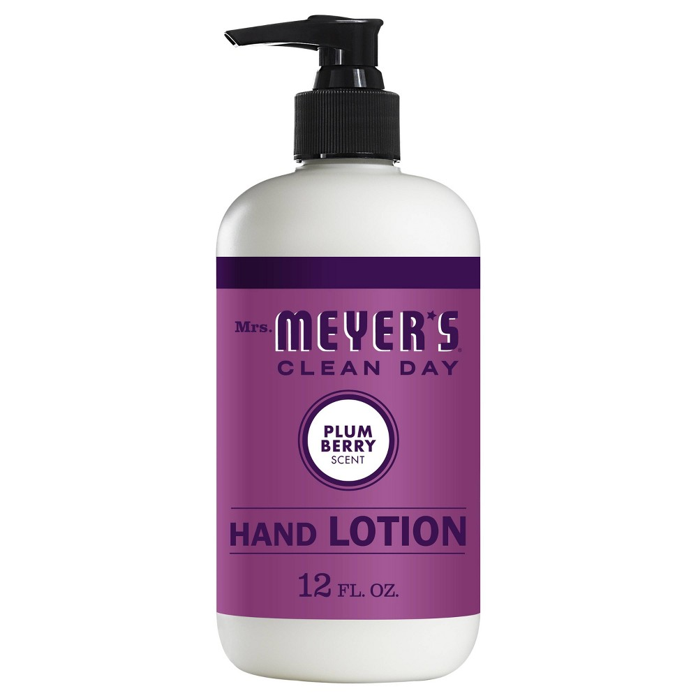 Image of Mrs. Meyer's Clean Day Plumberry Hand Lotion - 12 fl oz