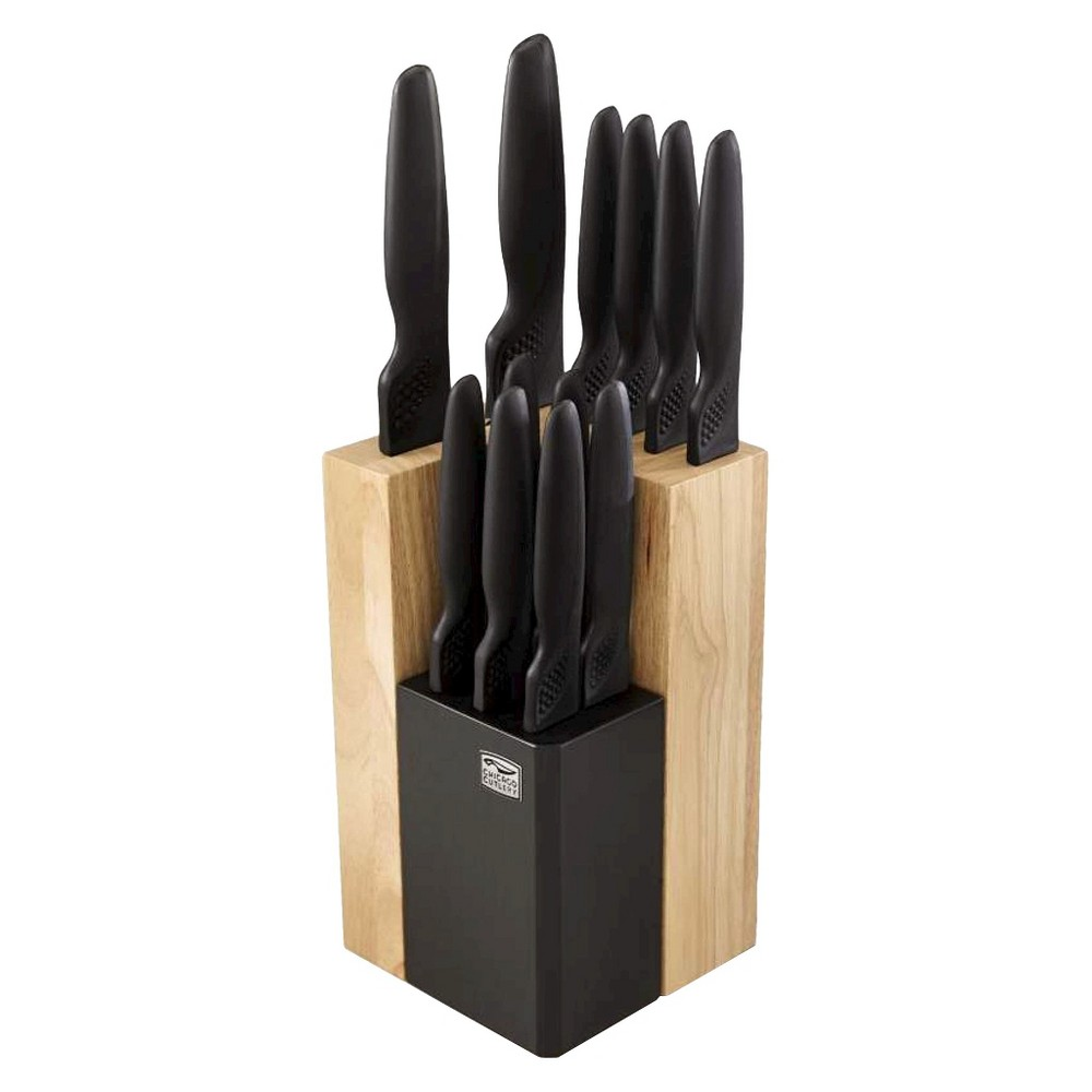Image of Chicago Cutlery 14 Piece ProHold Knife Block Set