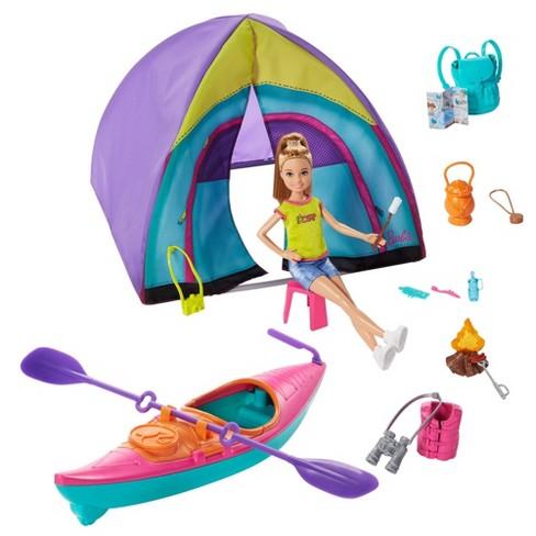 Barbie Team Stacie Summer Camp Playset - image 1 of 4
