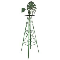 "96"" Classic Outdoor Steel Windmill - Green - Sportsman"