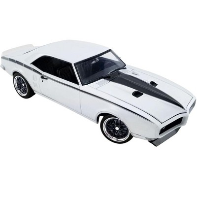 1968 Pontiac Firebird Street Fighter Cameo Ivory White with Black Stripes Ltd Ed 690 pcs 1/18 Diecast Model Car by ACME