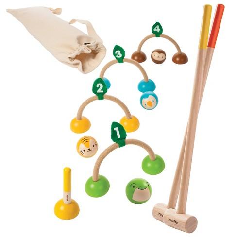 PlanToys Croquet Game - image 1 of 4