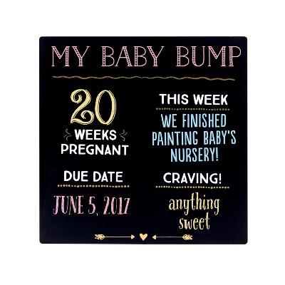 Pearhead Baby Bump Chalkboard - 13x10x10