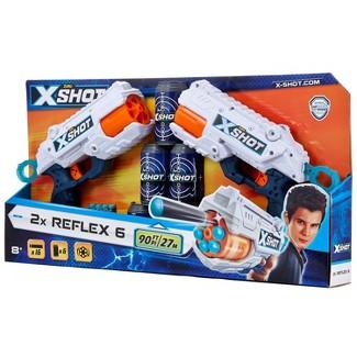 Zuru X-Shot 2x Reflex 6 Blasters