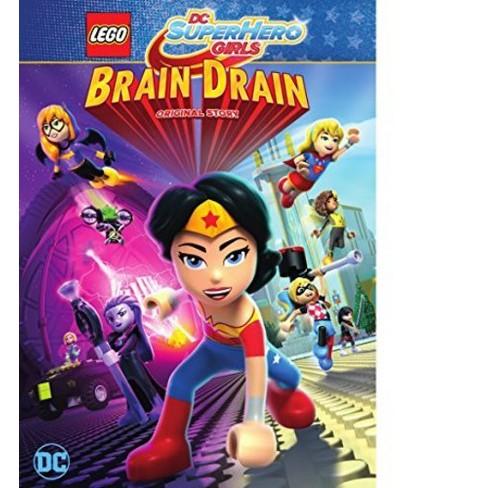 LEGO DC Super Hero Girls: Brain Drain (DVD) - image 1 of 1