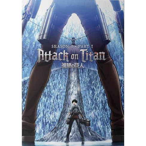 Attack On Titan: Season Three, Part One (DVD) - image 1 of 1