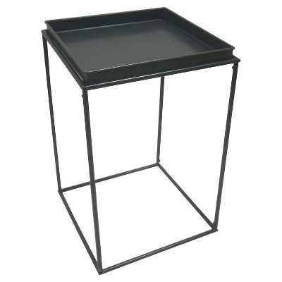 23  Square Metal Plant Stand - Black - Threshold™