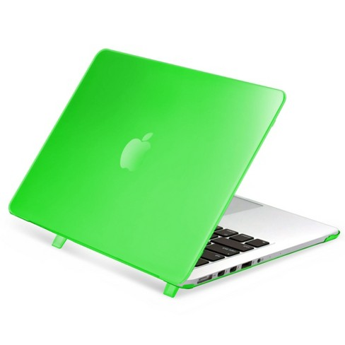 """Insten For Apple MacBook Pro 13"""" with Retina Display Clip-on Matte Rubber Hard Case , Clear Green - image 1 of 3"""