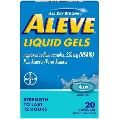 Aleve Acetaminophen Liquid Gels (NSAID) - 20ct