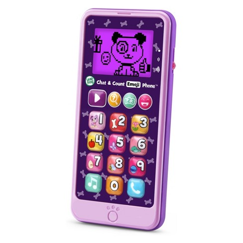 LeapFrog Chat and Count Emoji Phone - Purple - image 1 of 6