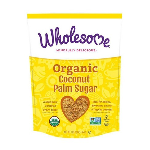 Wholesome Organic Coconut Palm Sugar - 16oz - image 1 of 3