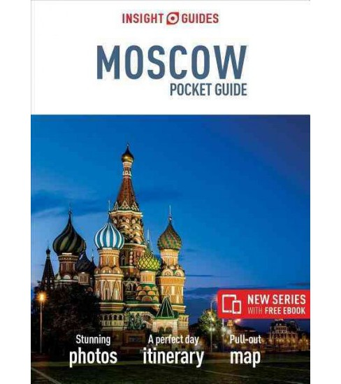 Insight Guides Moscow Pocket Guide (Paperback) - image 1 of 1