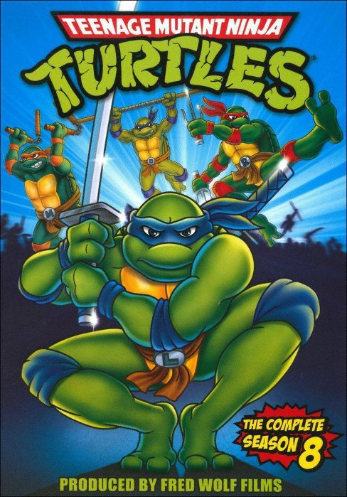 Teenage Mutant Ninja Turtles: The Complete Season 8 (dvd_video) - image 1 of 1