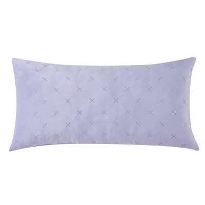 Christian Siriano Kristen Bolster Pillow Purple