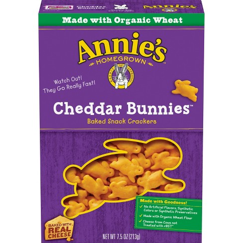 Annie's Baked Cheddar Bunnies - 7.5oz - image 1 of 3