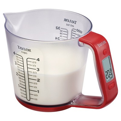 Taylor Digital Measuring Cup Scale with Food Conversions