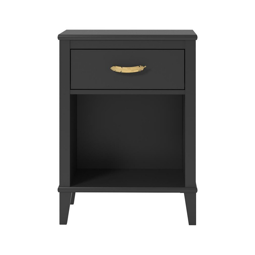 Monarch Hill Hawken Nightstand Black - Little Seeds