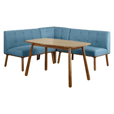 4pc Playmate Nook Dining Set   Blue   Buylateral