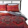 Coral Nadia Medallion Reversible Comforter Set - image 2 of 3