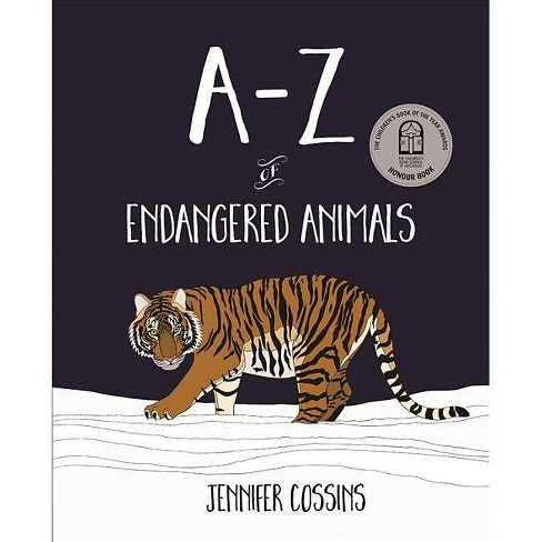 A-Z of Endangered Animals - by  Jennifer Cossins (Paperback) - image 1 of 1