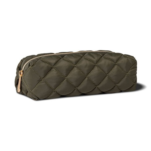 Sonia Kashuk™ Pencil Case - Green Quilt - image 1 of 2