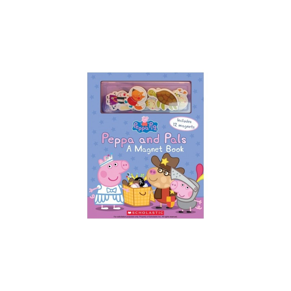 Peppa and Pals : A Magnet Book - (Peppa Pig) (Hardcover)