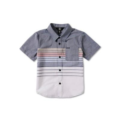 Volcom Todler Boys Combo Stripe Short Sleeve Tee