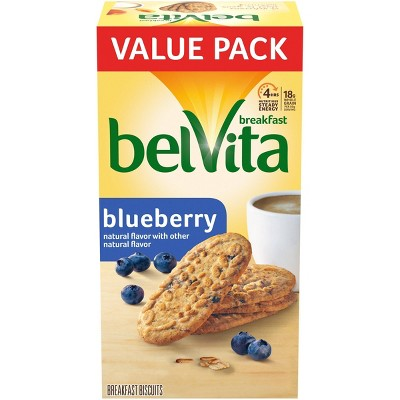 belVita Blueberry Breakfast Biscuits - 12ct