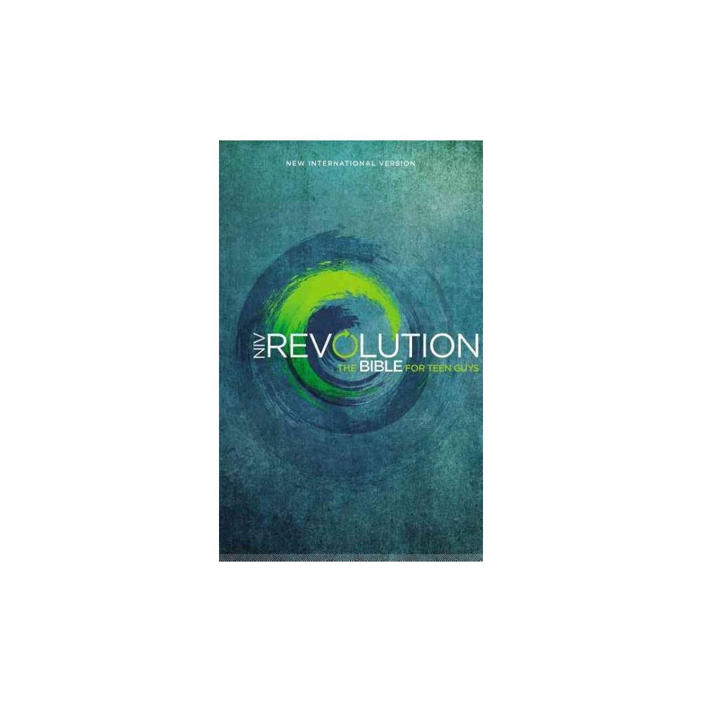 NIV Revolution The Bible for Teen Guys : New International Version - Special (Hardcover)