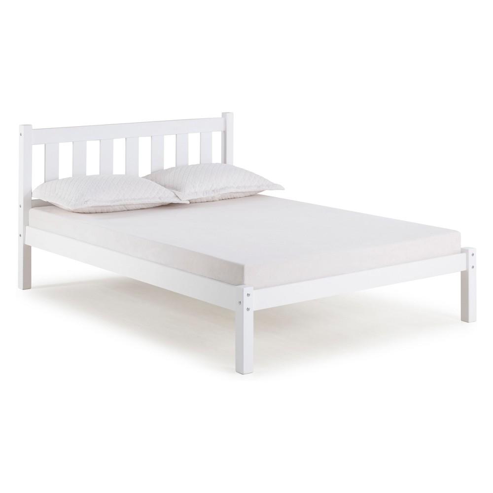 Poppy Full Bed White - Bolton Furniture