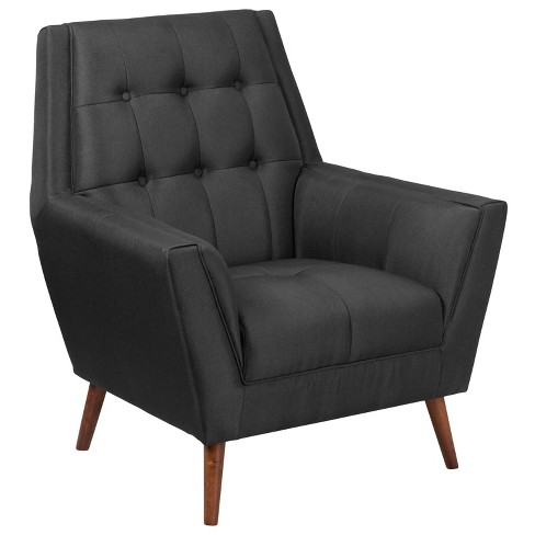 Hercules Contemporary Tufted Arm Chair - Riverstone Furniture - image 1 of 4