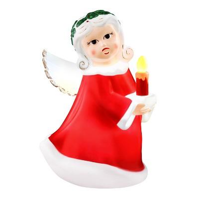 "Mr. Christmas Outdoor LED Christmas Decoration Retro Angel - 24"""