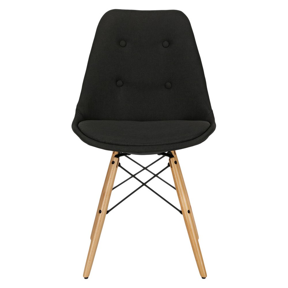 Image of Albany Dining Chair - Black - Dorel Home Products