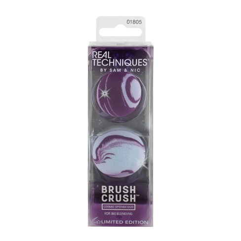 Real Techniques Brush Crush Cosmic Sponge Duo 2pc - image 1 of 4