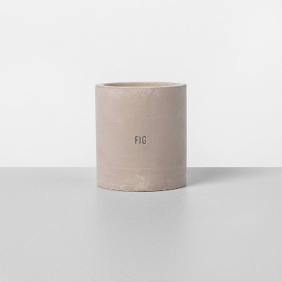 9.3oz Cement Candle Fig - Hearth & Hand™ with Magnolia