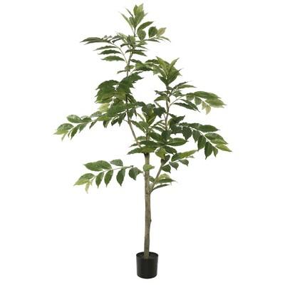 6' Artificial Potted Nandina Tree - Vickerman