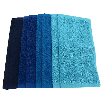 Washcloth Set Cool Blue - Pillowfort™