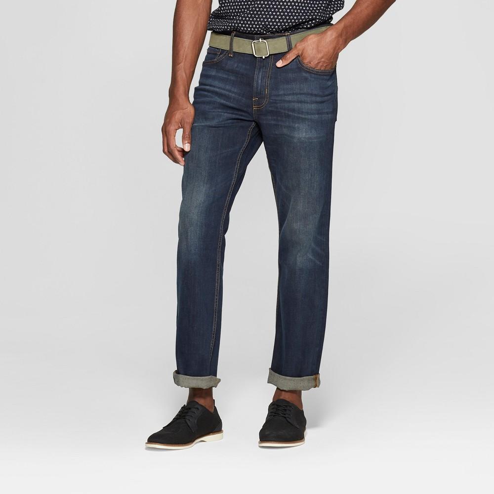 Men's 34 Bootcut Jeans - Goodfellow & Co Dark Blue 36x34